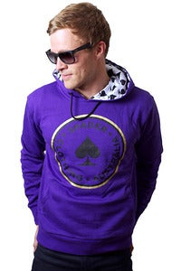 Image of Men's Purple Classic Case Hoody