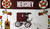 Image of Vintage Tea Towel from Hershey PA
