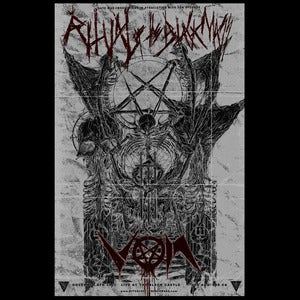 "Image of VON-Ritual of The Black Mass LA ""THE GATES OF EVISC"" 11x17 Poster (Zbigniew M. Bielak Ltd Ed 50)"