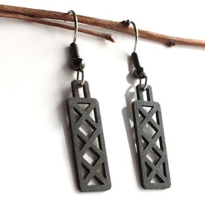 Image of Steel Town Short X Earrings