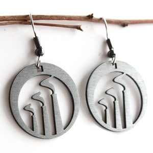 Image of Smoke Stack Earrings