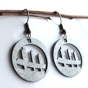 Image of Ballpark earrings