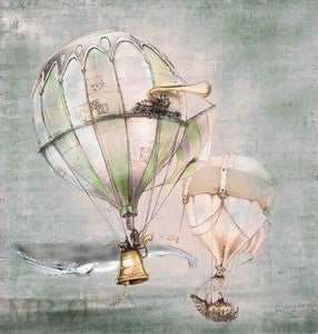 Image of Steampunk Balloons by the Filigree