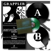 "Image of DK036: Grappler - Everything I've Ever Feared 12"" EP - Both Colourways + Callow 7"" EP + Patch"