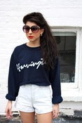 Image of Signature Cropped Sweatshirt