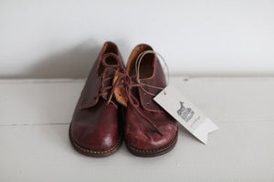 Image of 1930s child's leather shoes