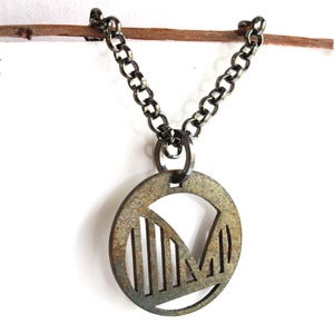 Image of Round Bridge Necklace
