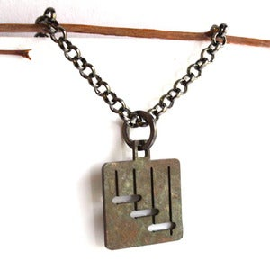 Image of Floating Stairs Necklace