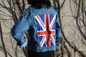 Image of Levis Studded Denim / British Flag