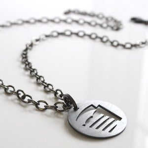 Image of Football Field Necklace