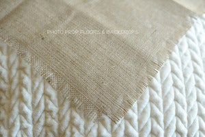 Image of NEW: Burlap Layering Fabric only $5.99 each!
