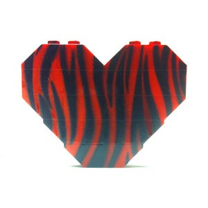 Image of ♥ Limited Edition ~ Red Tiger Print H.O.B