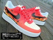 "Image of ""Tropical Sunset"" Air Force One"