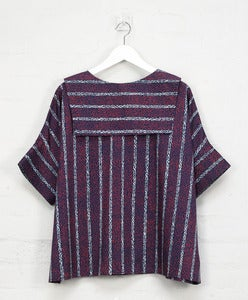 Image of Vintage Print 'Backwards' Sailor Top