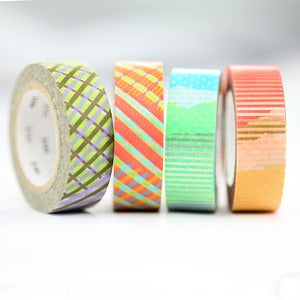Image of Neon Patch Washi Tape