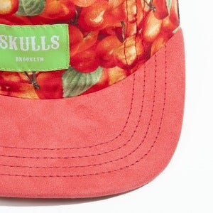 Image of Skulls- 5 panel- Cherries