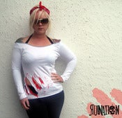 Image of Slash Me Long Sleeve Top *LIMITED EDITION*