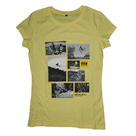 Image of Atherton Racing 'WOMENS photos' T-Shirt - Yellow