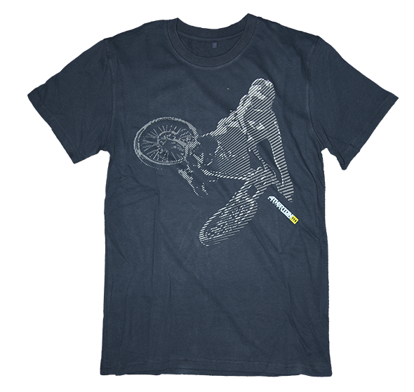 Image of Atherton Racing 'Jump' T-shirt - Navy or Black