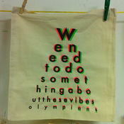 Image of WE NEED TO DO SOMETHING ABOUT THESE VIBES tote bag