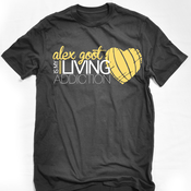 "Image of ""Is My Living Addiction!"" T-Shirt"