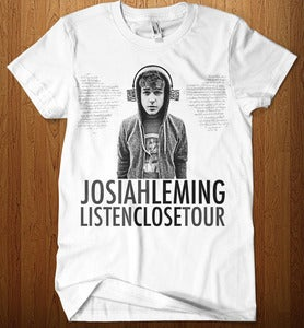 Image of Listen Close Tour Tee