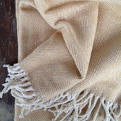 Image of Cotton Herringbone Throw