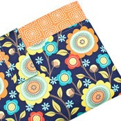 Image of Laptop Sleeve with Pocket: 11 13 14 15 15.6 17 18 Inch: Stitch Floral