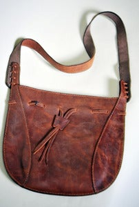 Image of Large Crossbody Leather Purse