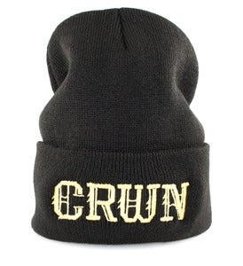 "Image of ""KINGS CRWN"" BEANIE 