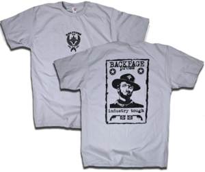 "Image of ""Industry Tough"" Outlaw Josey Wales tee by Backpage Pres"