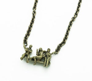 Image of ONE BORED MAN NECKLACE