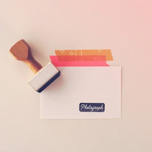 Image of Photograph | Rubber Stamp