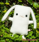 "Image of Flat Bonnie Bunny Plush - Lop (Classic 9"") More Colors Available - Handmade"