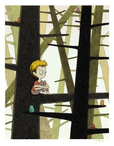 Image of PRINT :: In The Woods
