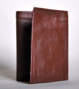 Image of Tri-fold Leather Wallet