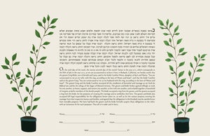 Image of Growing Together Ketubah