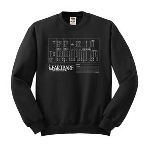 Image of Fartbarf User Patch Sheet Sweatshirt