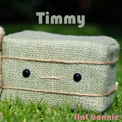 Image of Flat Bonnie's BFF Timmy - Timothy Hay Bale Plush - Handmade