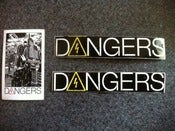 Image of Dangers Stickers (3) $1.50