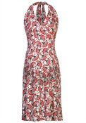 Image of Fragile Flowers Halter Dress (more prints)