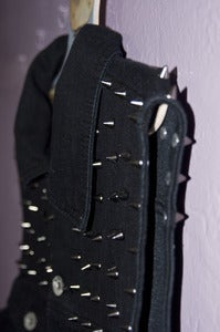 Image of Studded Denim Vest