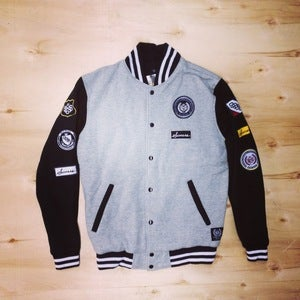 Image of The Scout Varsity Jacket (Men-Gray)
