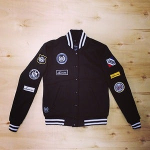 Image of The Scout Varsity Jacket (Women-Black)