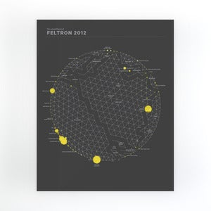 Image of Feltron 2012 Annual Report Pre-Order