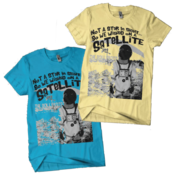 Image of Satellite Astronaut Tee (Blue OR Yellow)
