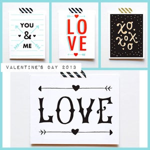 Image of The Paper Cub Co. Valentines