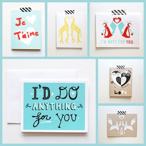 Image of The Paper Cub Co. Love Cards