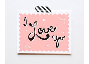 Image of I Love You Card by The Paper Cub Co.