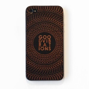 Image of GOOD VIBRATIONS iPHONE 4/4S/5 COVER